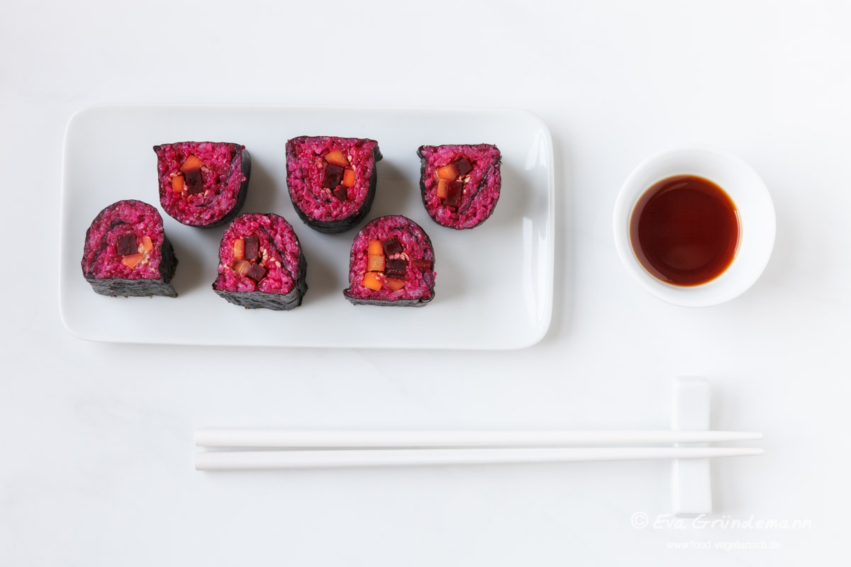 Rote Bete Sushi